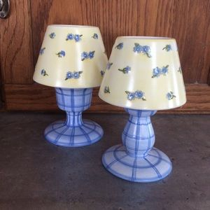 Pair of Ashley Collection Lamps